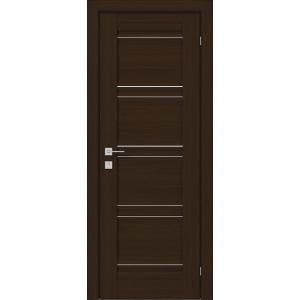 Межкомнатные двери Родос Fresca Angela ПГ R Орех Борнео