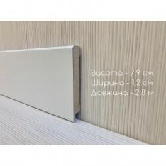 Плинтус 1280 белый