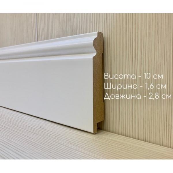 Плинтус 16100 белый