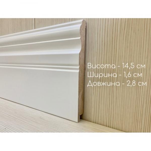 Плинтус 16145 белый