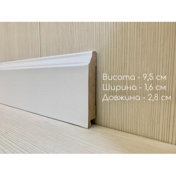 Плинтус 1695 белый