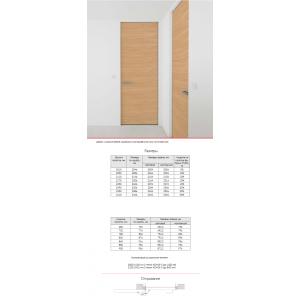 Door hidding set