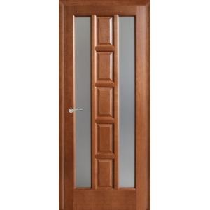 Межкомнатная дверь Квадро ПОО (каштан)