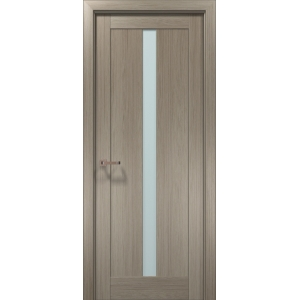 Межкомнатная дверь Optima-01 клен серый