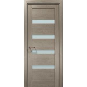 Межкомнатная дверь Optima-02 клен серый